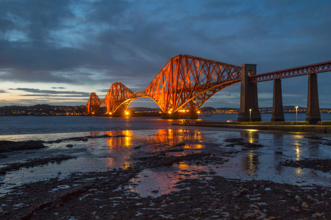 VisitScotland: The Forth Bridge voted Scotland's greatest man-made wonder