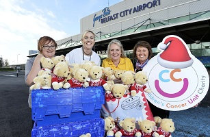 George Best Belfast City Airport invites commuters to 'Buy a Bear' this season for the Children's Cancer Unit Charity