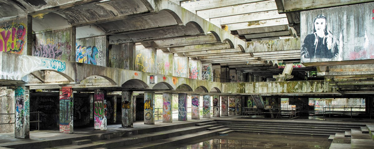 Historic Environment Scotland to release new book on Scotland's most famous modernist ruin, St Peter's Seminary in Cardross