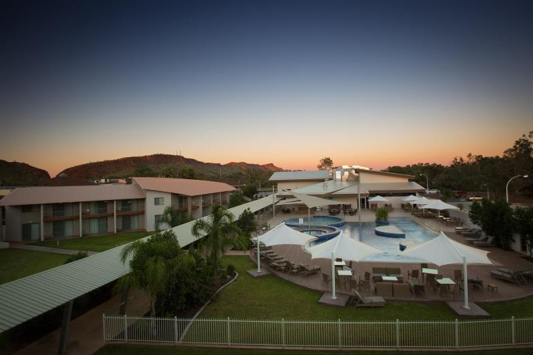 InterContinental Hotels Group (IHG) and Ford Dynasty Pty Ltd to refurbish and rebrand the current Lasseters Hotel Alice Springs