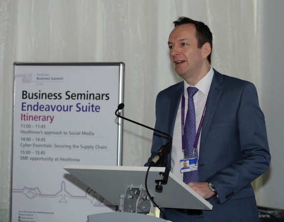 The Heathrow Business Summit welcomed over 200 SMEs seeking to join the airport's supply chain