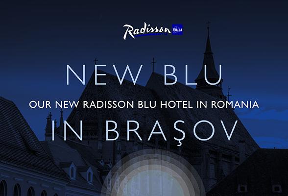 The newly built Radisson Blu Hotel Brașov will be Carlson Rezidor's third hotel in Romania