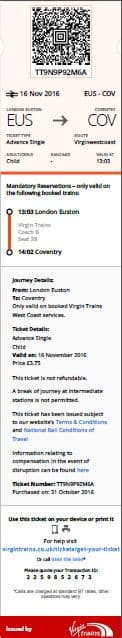 Virgin Trains the first operator to give customers the option to add train tickets to their Apple Wallet