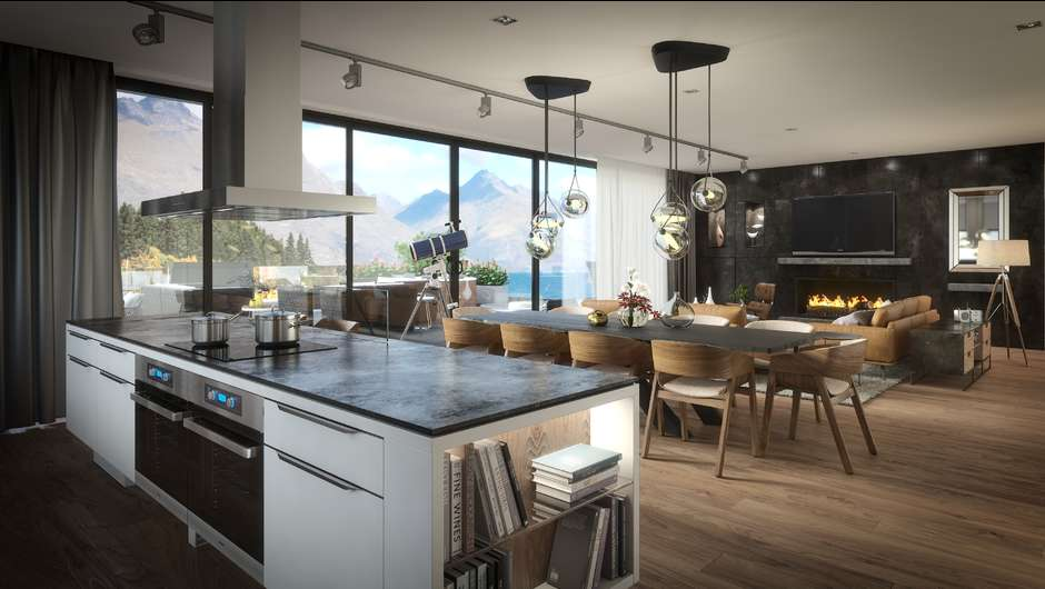 The Penthouse at Eichardt's Private Hotel in Queenstown: New Zealand's newest exclusive ultra-luxury waterfront development