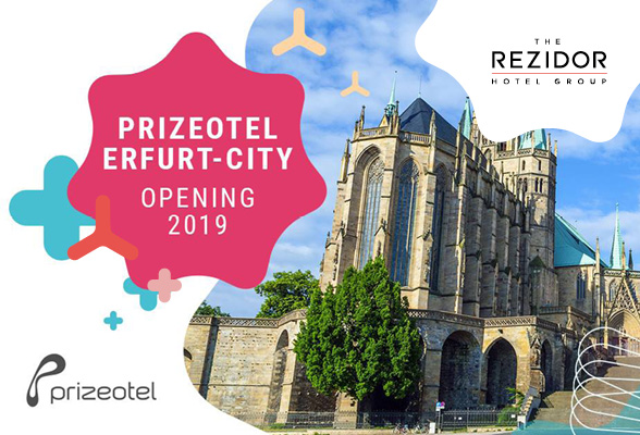Second joint Rezidor / prizeotel hotel project in Erfurt, Eastern Germany