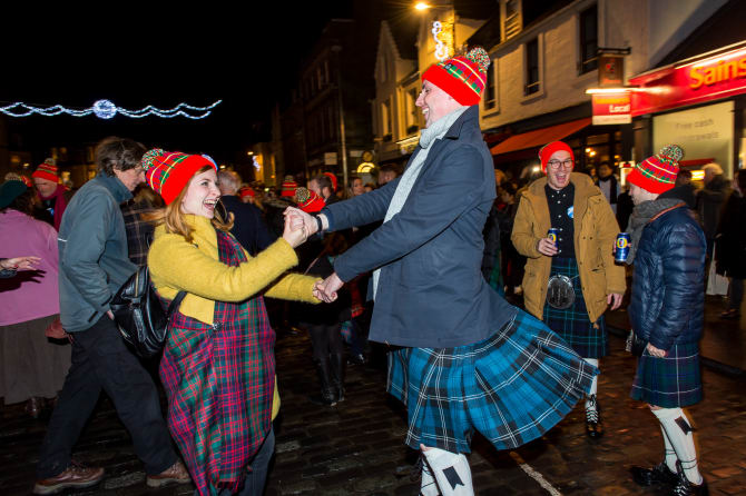VisitScotland: Spectacular two days of St Andrew's Day celebrations in St Andrew