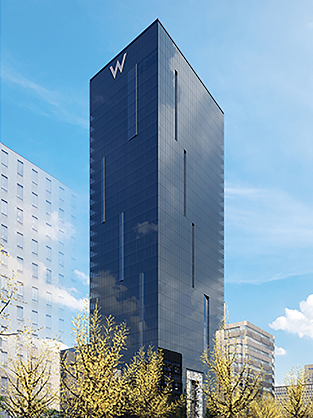 Travel pr news w hotels worldwide announces signing of w for Design hotel osaka