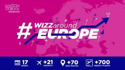 Travel Pr News Wizz Air Starts Its Biggest Operational Ramp Up Across Its Network