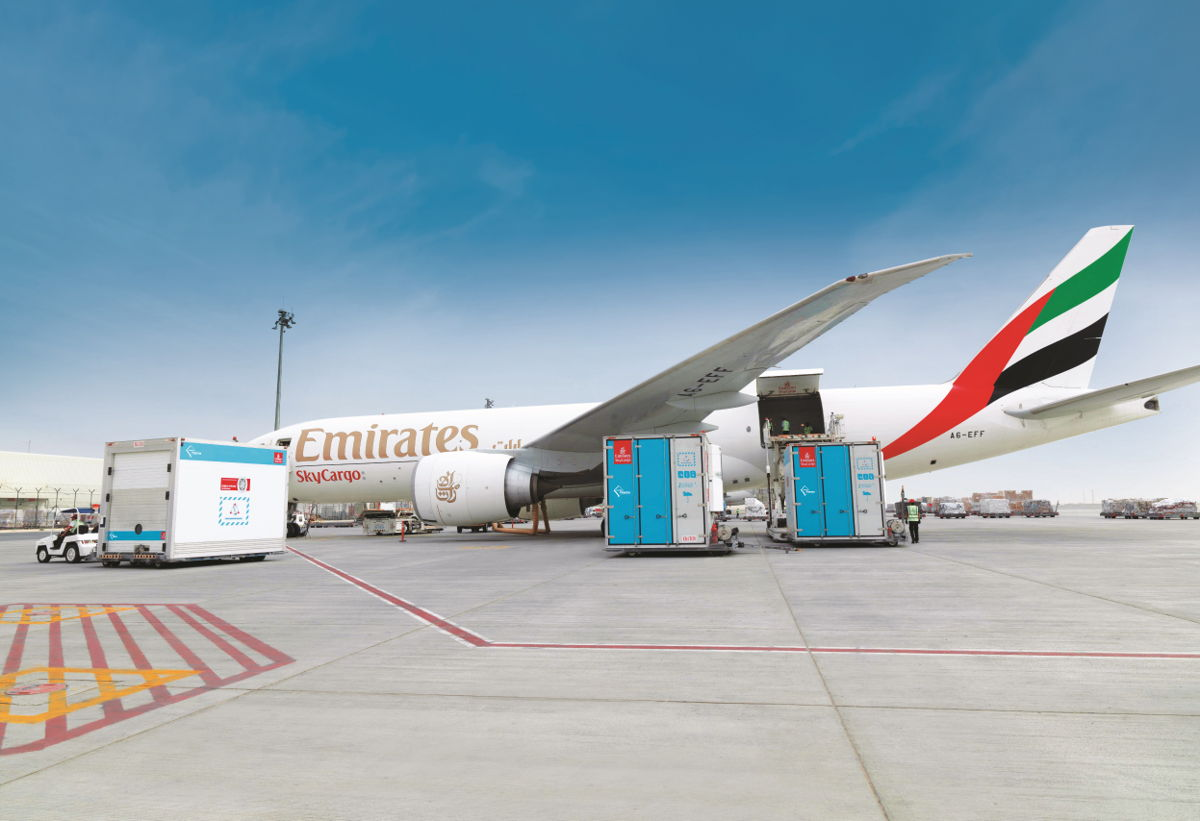 Travel pr news emirates skycargo helps deliver for Countries to go on vacation