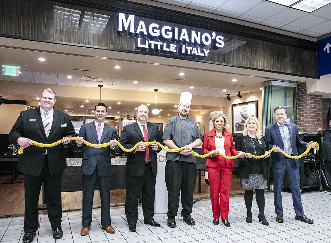 HMSHost introduces Maggiano's Little Italy in Dallas Fort Worth International (DFW) Airport