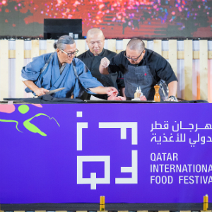 Qatar Airways is the Official Airline Sponsor of the 10th annual Qatar International Food Festival (QIFF) 2019