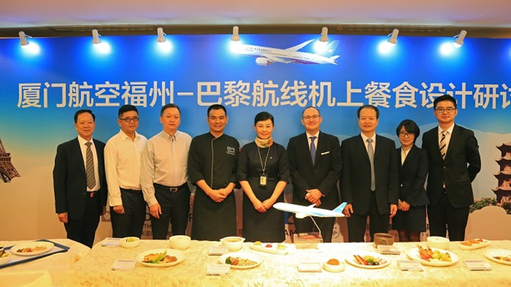 Kempinski Hotel Fuzhou and Xiamen Air join forces for a star-rated flight cuisine