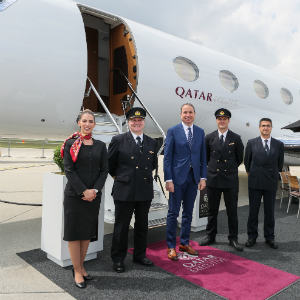 Qatar Executive celebrates 10 years of success at EBACE with the announcement of plans of global expansion