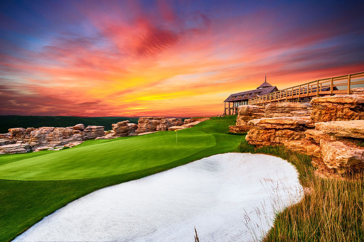 Golf course, natural beauty, Branson, Missouri, Ozarks