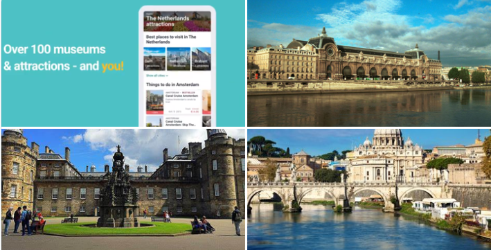 Tiqets Awakening Weeks: 6 weeks 6 countries campaign to host exclusive online / offline activities from venues like Musée d'Orsay, the Palace of Holyroodhouse, the Vatican, the 9/11 Memorial and Museum, the Château de Versailles and more