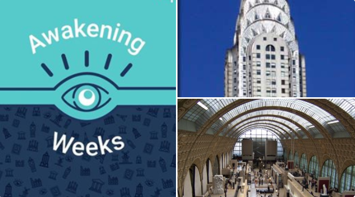 Tiqets #AwakeningWeeks participating venues: the Musée d'Orsay, the Palace of Holyroodhouse, the 9/11 Memorial and Museum, Gardaland, the Vatican, Casa Vicens, the Moco Museum, the Château de Versailles, the Empire State Building and more