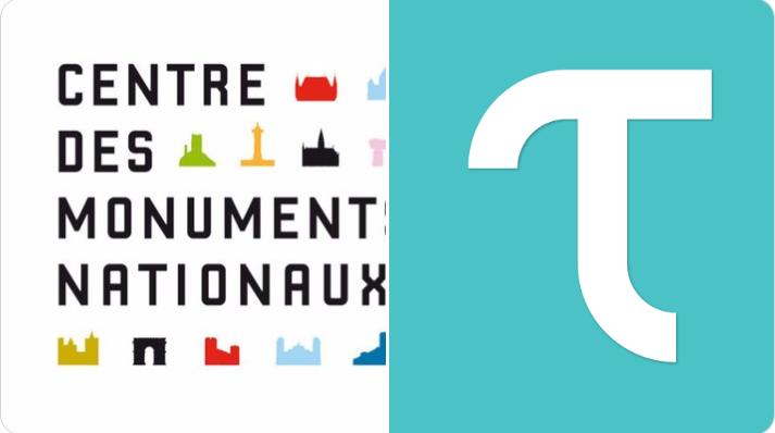 """""""Le Centre des monuments nationaux est heureux d'accompagner  @Tiqets  dans cette campagne qui témoigne d'une relation fructueuse,"""" déclare la direction du développement économique du Centre des Monuments Nationaux"""