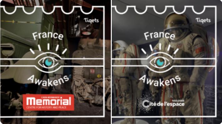 Plus de 15 célèbres musées et attractions en France vont accueillir des expériences virtuelles gratuites et lancer de nouvelles expériences pendant les Awakening Weeks #FranceAwakens