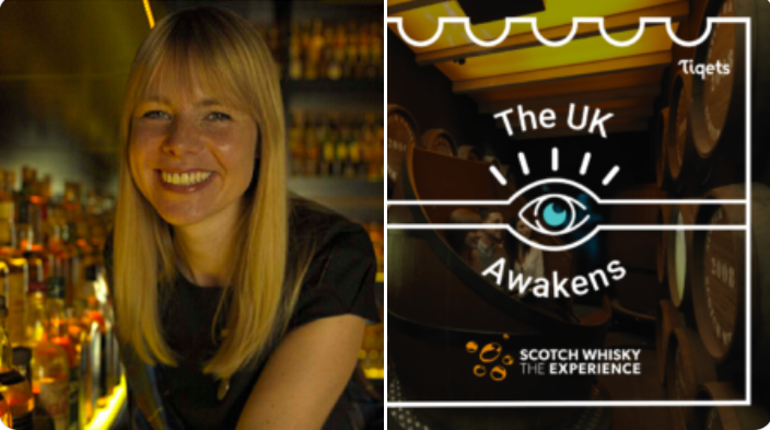 Julie Trevisan-Hunter, the Scotch Whisky Experience: We are so excited to be working with @Tiqets as part of their Awakening Week Campaign
