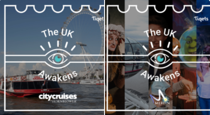 The full #UK Awakens week includes more than 20 top #museums and #attractions who are hosting free virtual experiences and launching new in-person experiences during the @Tiqets #AwakeningWeeks