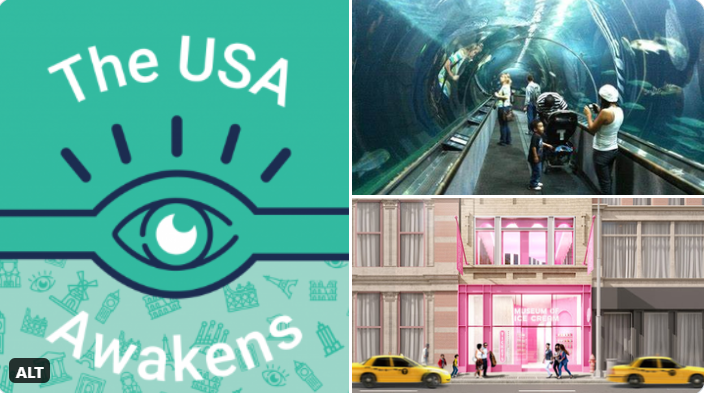From 29 Sep to 5 Oct, Tiqets, one of the world's leading online #booking platforms for #museums and #attractions, will host the #USAwakens, a week of free virtual experiences and exclusive activities to celebrate the reawakening of #culture