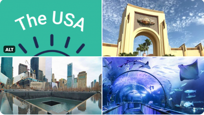 #USAwakens: Participating venues in the US span the whole country, from Universal Studios in Florida and the Aquarium of the Bay in San Francisco to the 9/11 Memorial & Museum in New York