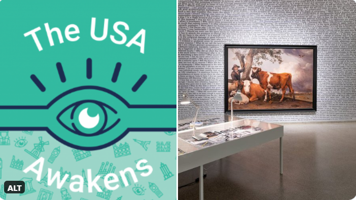 Tiqets #USAwakens: #countryside #exhibition at the Guggenheim, by AMO/Rem Koolhaas, about the radical changes made on new relevance amid the #pandemic
