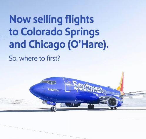 travel pr news southwest airlines releases initial flight schedules for chicago o hare international and colorado springs southwest airlines releases initial
