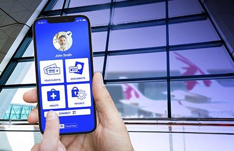 Qatar Airways trials the new IATA Travel Pass 'Digital Passport' mobile app