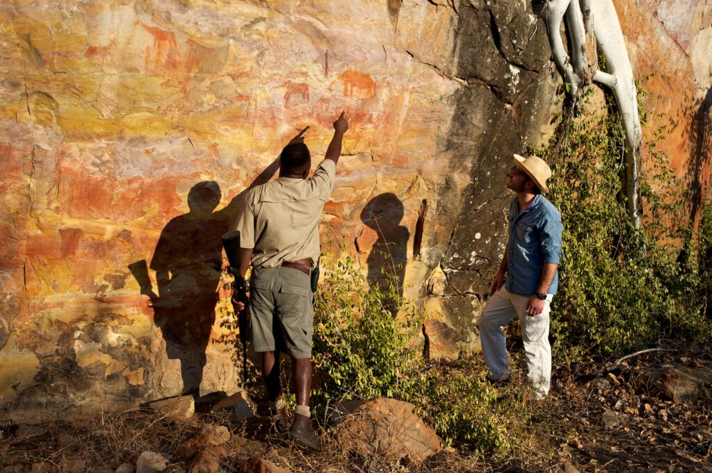 hundreds of ancient rock art sites to discover at Singita Pamushana