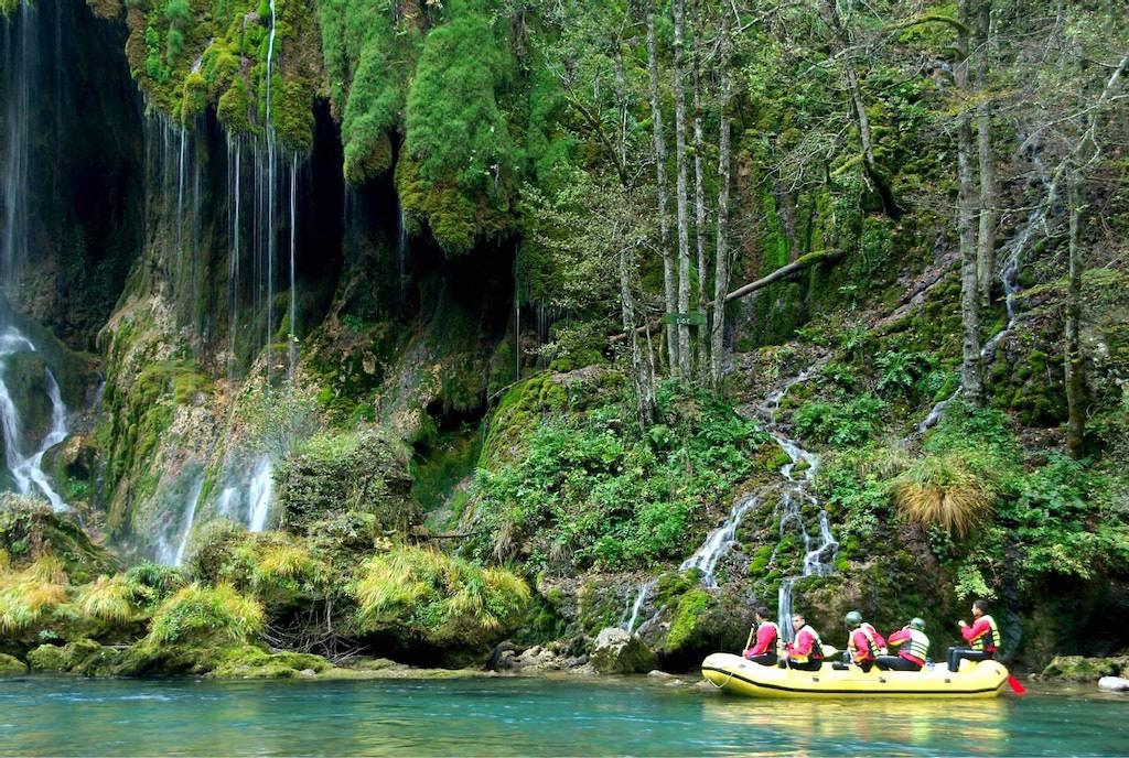 Rafting Tara river in Montenegro