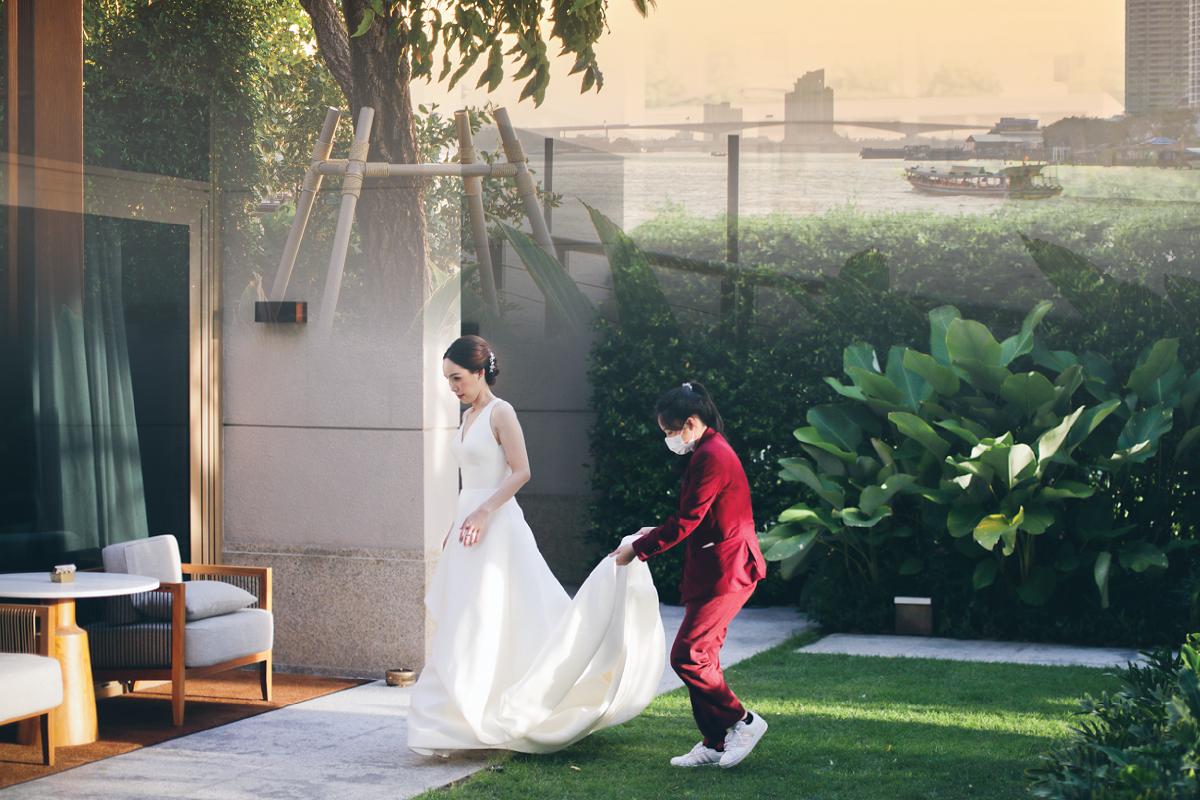 Capella Bangkok Wedding in the Villa